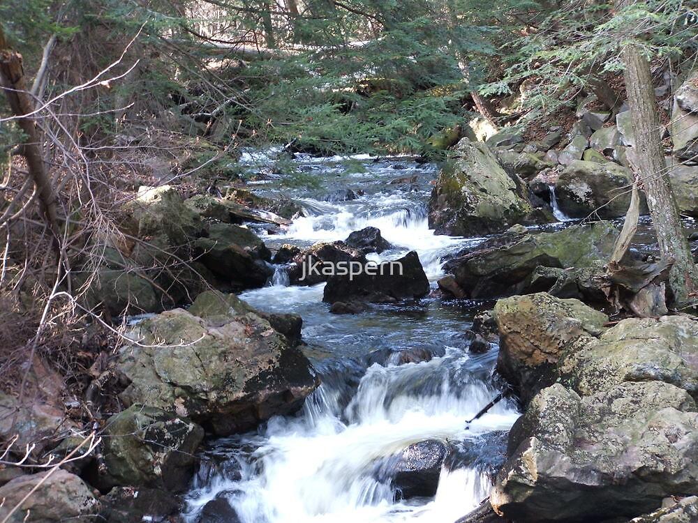 small waterfall by jkaspern