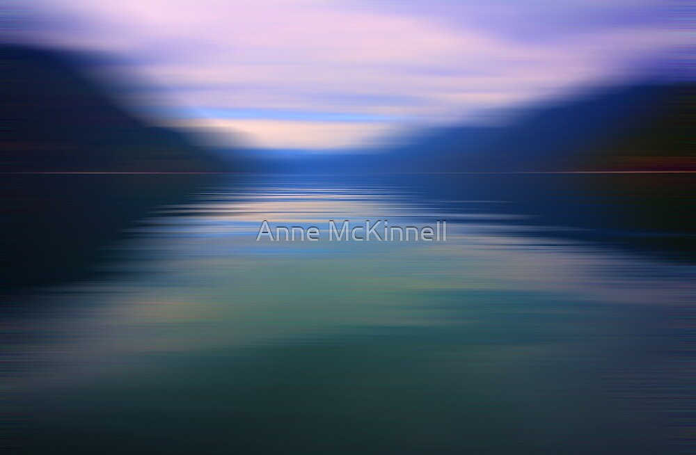 Ocean in Motion #11 by Anne McKinnell