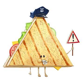 Cop-sandwich by jamescubitt