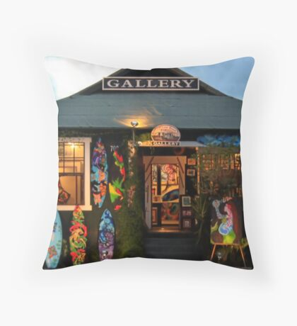 Maui Gallery Throw Pillow