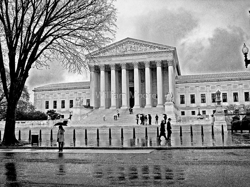 Justice is Black and White by William Moore