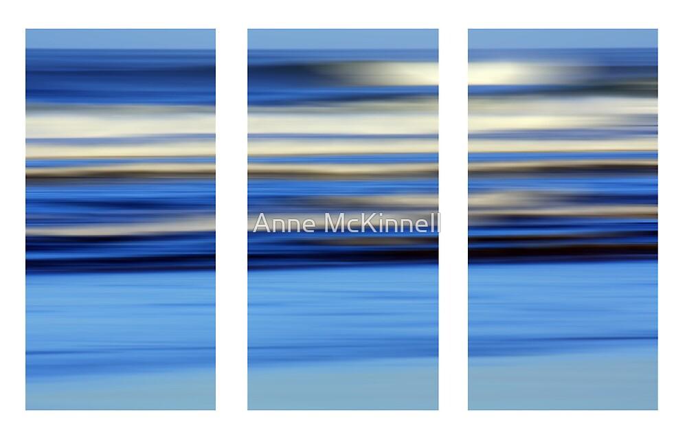 Ocean in Motion #14 by Anne McKinnell