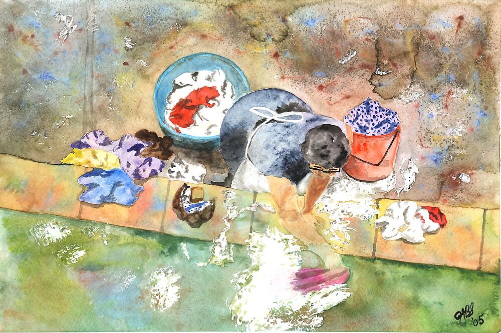 Washing by Joyce Sousa