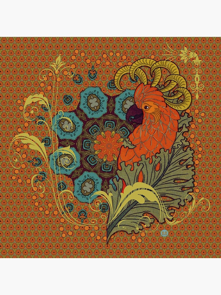 «Tangerine Parrot» par lesmusesetmoi