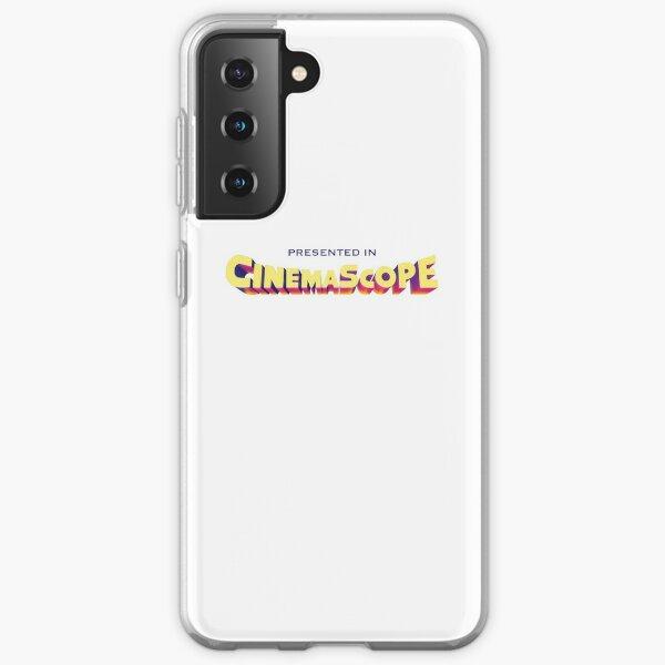 Presented in Cinemascope hollywood retro logo Samsung Galaxy Soft Case
