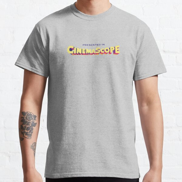 Presented in Cinemascope hollywood retro logo Classic T-Shirt