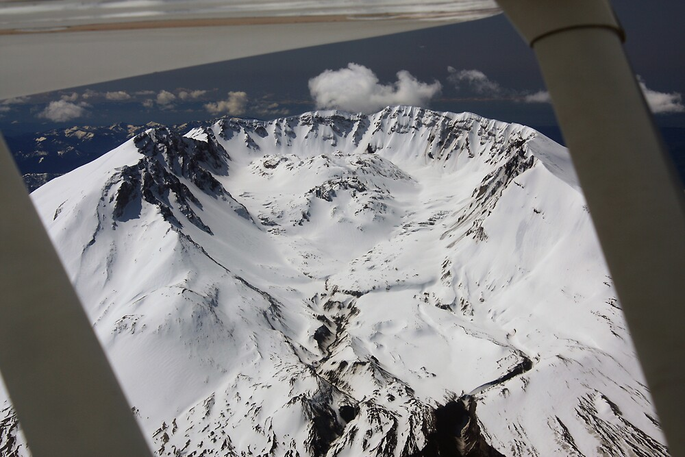 Crater on St Helens by James Duffin