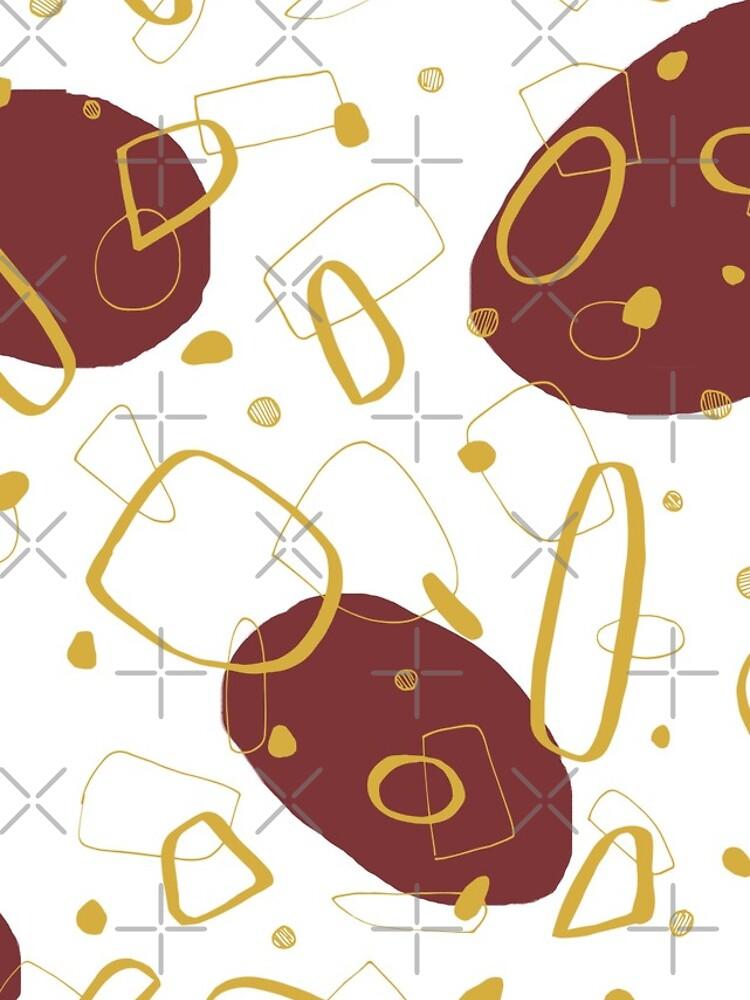 Doodle Pattern 01 #redbubble #doodle #pattern by designdn