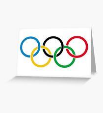 Olympia Pyeongchang Grußkarte