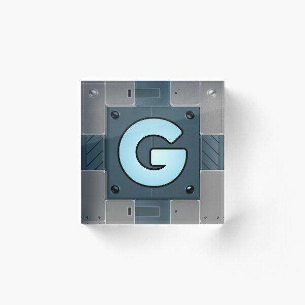 Gadgetron Crate Acrylic Block
