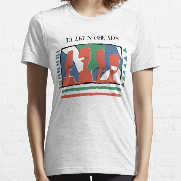 talking heads 90s - Speaking in Tongues - yellow tee tshirt Essential T-Shirt
