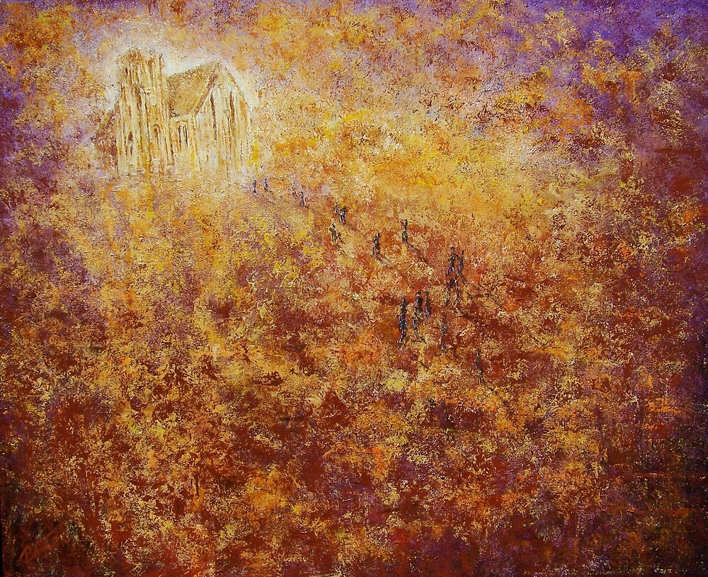 church on the hill by peter tebb