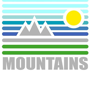 mountains by Pferdefreundin