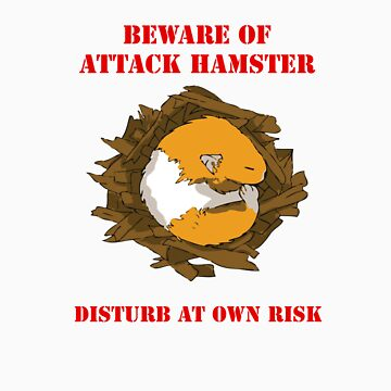 Attack Hamster by SliderDesigns