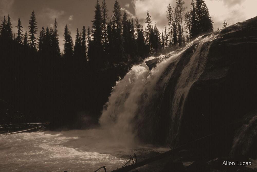 Bugaboo River Falls by Allen Lucas