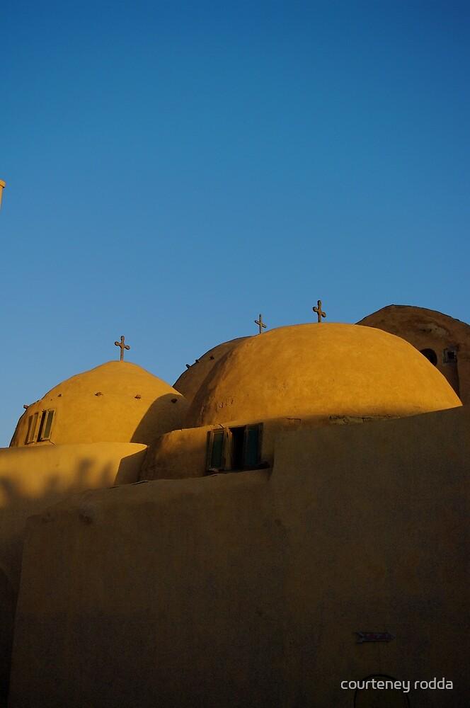 Egyptian Orthodox Monastery by courteney rodda