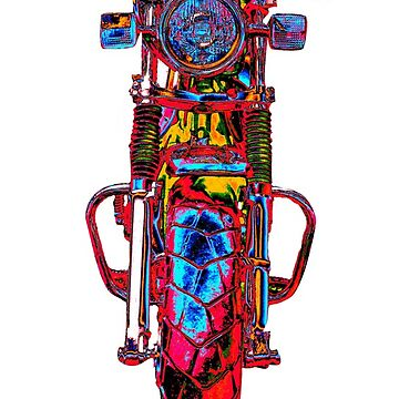 Motorrad frontal rot by freaks13