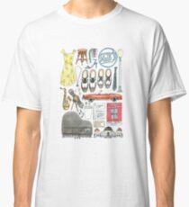 La La Land Illustration Jazz Saxophone Music Musical  Classic T-Shirt