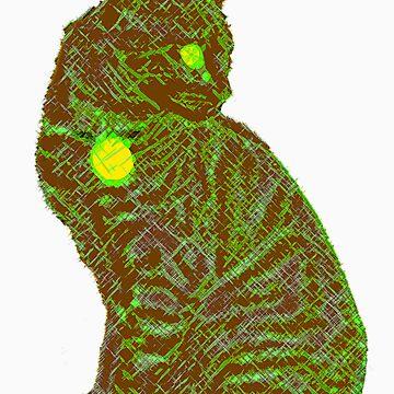 Neon Cat by SliderDesigns