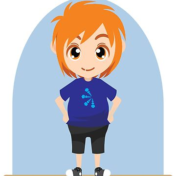 Cute Chibi Male Shirt by epicshirts