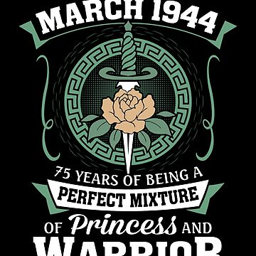 March 1944 Perfect Mixture Of Princess And Warrior by lavatarnt