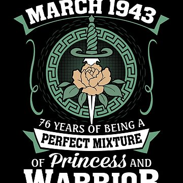 March 1943 Perfect Mixture Of Princess And Warrior by lavatarnt
