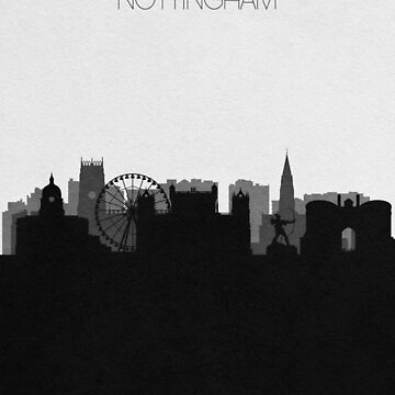 Travel Posters   Destination: Nottingham by geekmywall