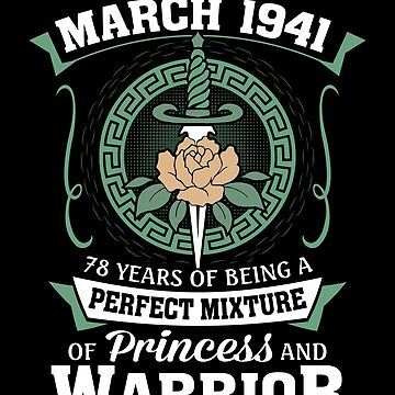 March 1941 Perfect Mixture Of Princess And Warrior by lavatarnt