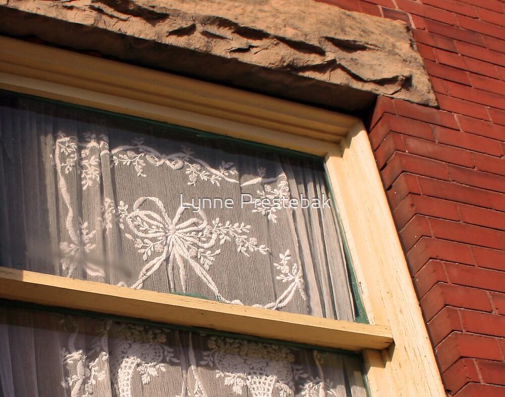 lacy window by Lynne Prestebak