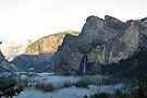 """""""Mountain Sunset"""" by Lynn Bawden"""