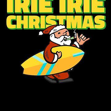 Jamaican Santa Irie Christmas by hadicazvysavaca