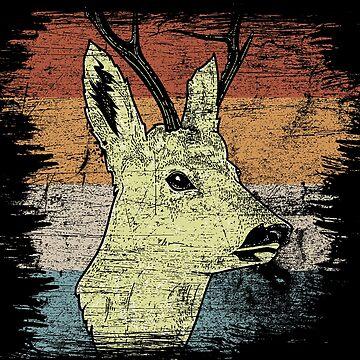 Deer fawn by GeschenkIdee