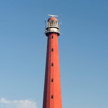 Lange Jaap Vuurtoren Lighthouse by stuwdamdorp