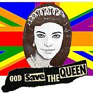 God Save The Queen (Ken)! Funny Gay Design by loveplasticpam
