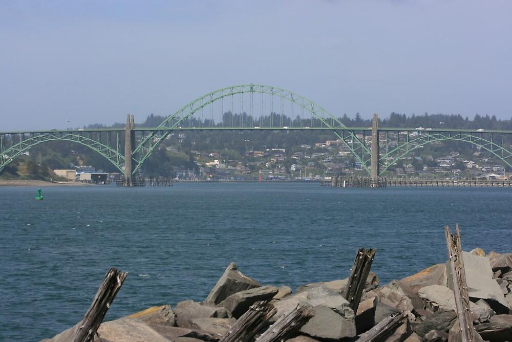Yaquina Bay Bridge by RobertW3