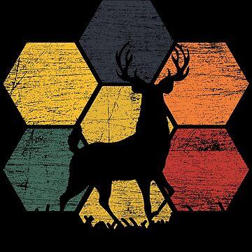 Deer animals by GeschenkIdee