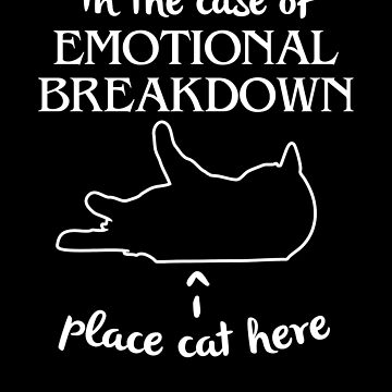 In the Case of Mental Breakdown Place Cat Here by hadicazvysavaca