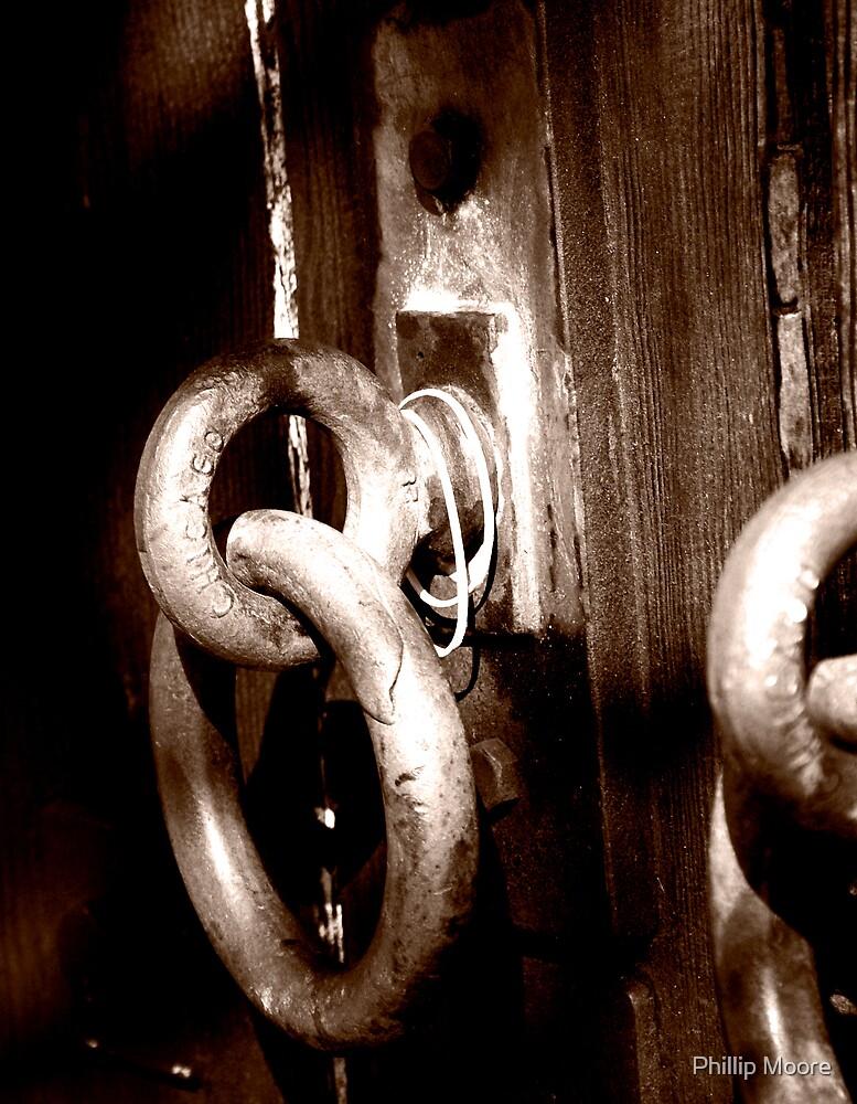 Old Frisco Door  by Phillip Moore