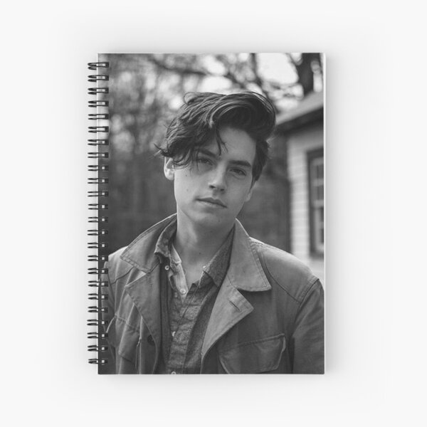 Cole Sprouse Spiral Notebook