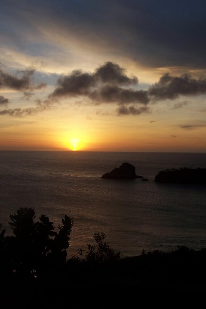 Island Sunset by Benjamin Sloma