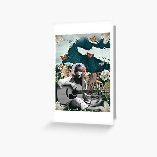 Joni Mitchell Greeting Card