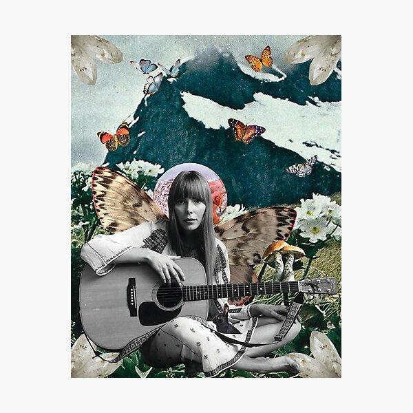 Joni Mitchell Photographic Print