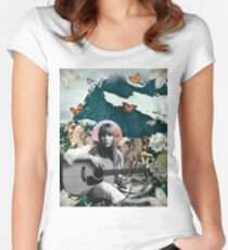 Joni Mitchell Women's Fitted Scoop T-Shirt