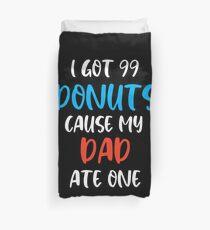 Donut Liebhaber Shirt Bettbezug