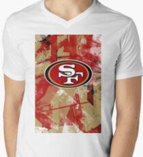 SAN FRANCISCO 49ERS  Men's V-Neck T-Shirt