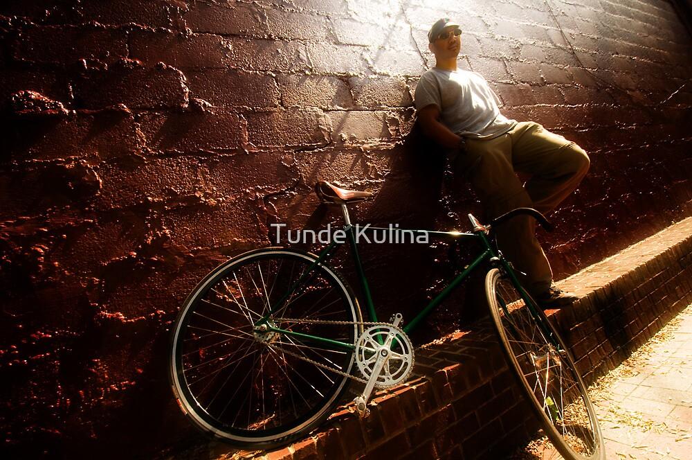 Biciklis by Tunde Kulina