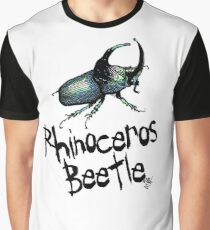 Rhinoceros Beatle Graphic T-Shirt