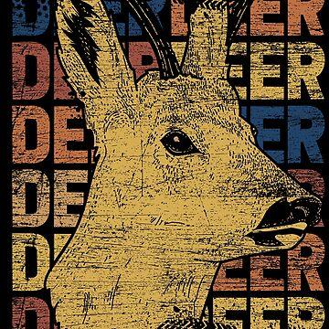 Deer animal by GeschenkIdee