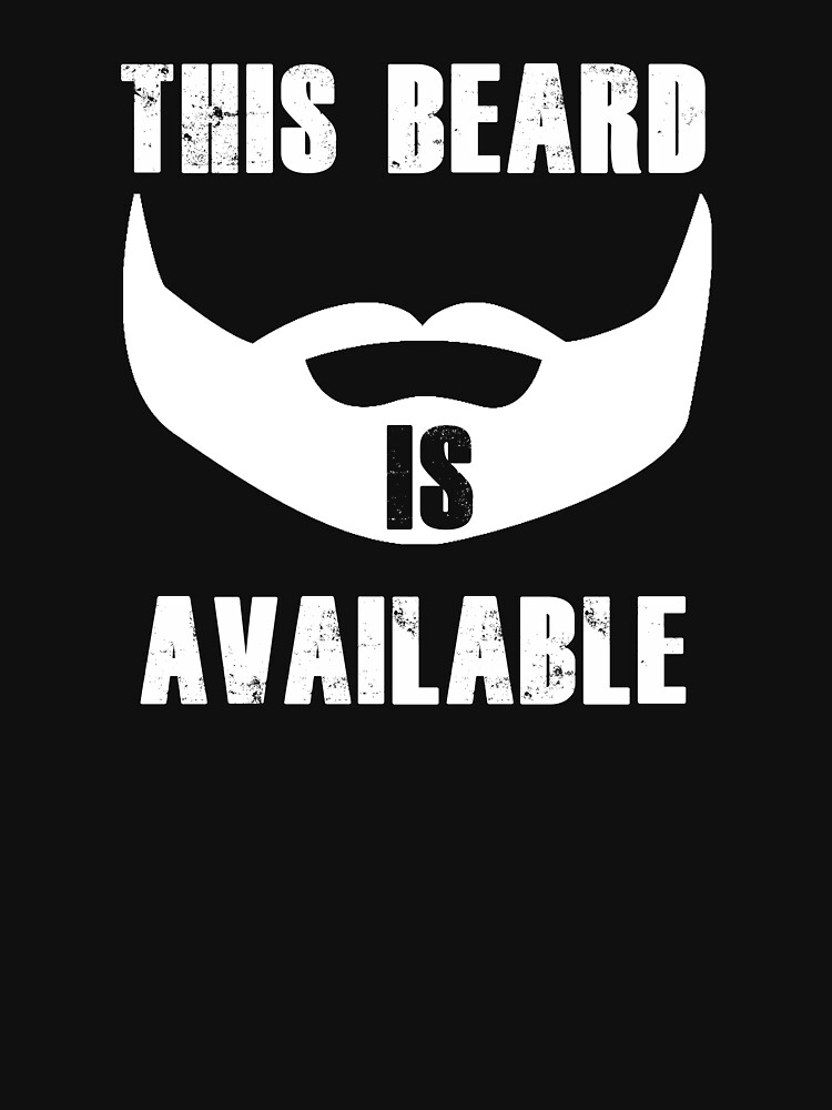 This Beard Is Available by christinamoyer