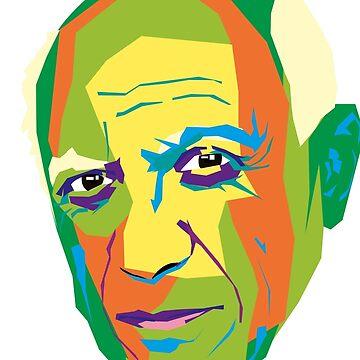 Pablo Picasso by 2piu2design